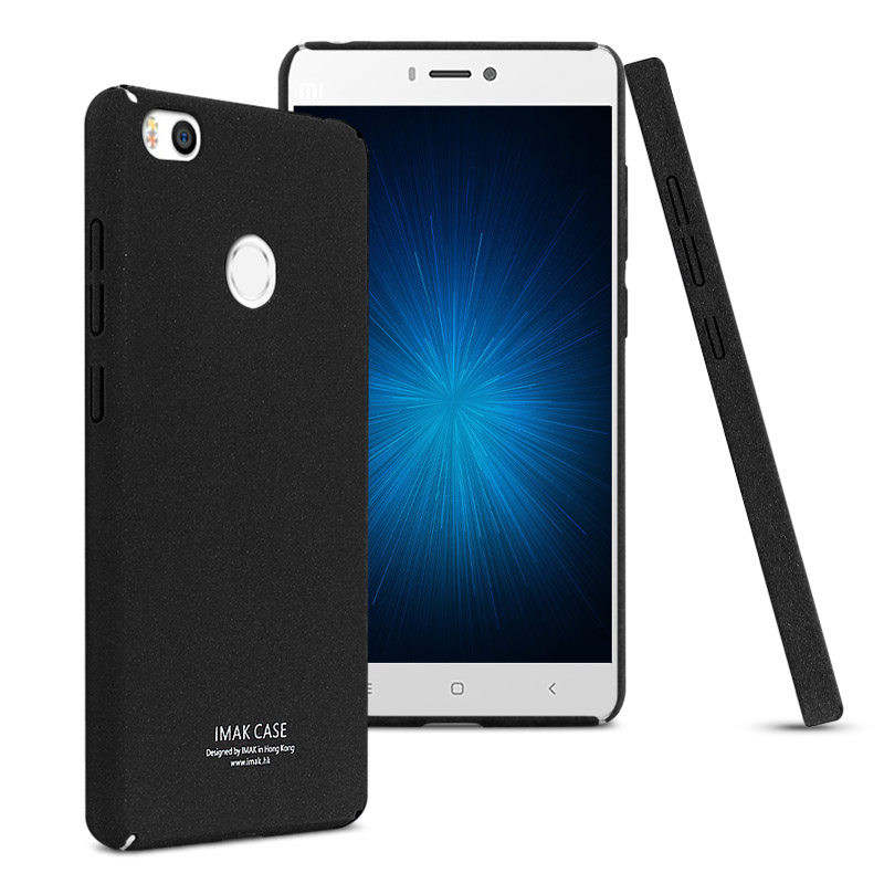 Imak Contracted Frosted Case xiaomi mi4s mi 4s Hight Quality Quicksand Back Cover xiaomi mi4s Phone Shell(China (Mainland))