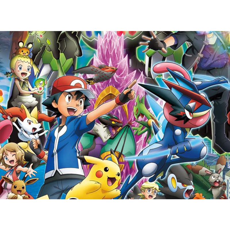 24 pcs/Lot Pokemon Action Anime Figure Toy Mixed 2-3 cm Cartoon Mini Pikachu Pokemon Figures For kids Toys Gift(China (Mainland))