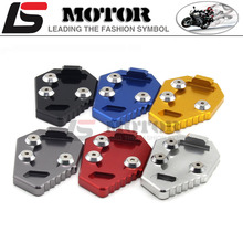 Buy Sale Kickstand Foot Side Stand Extension Pad Support Plate HONDA CB1000R CB 1000 R 2008 2009 2010 2011 2012 2013 2014 2015 for $10.99 in AliExpress store