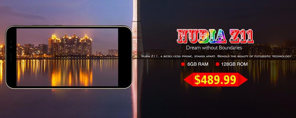 Nubia z11 banner