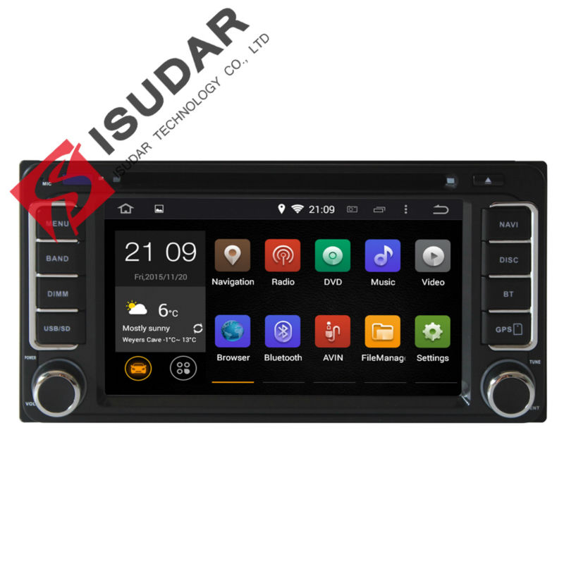 Dual Core 1.6GHZ! Two Din 6.2 Inch Android 4.2 Toyota Corolla Car DVD Player