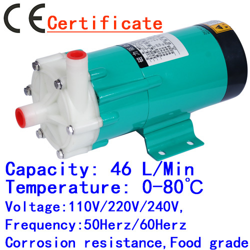 CE Approved Mini Magnetic Drive Water Pump MP-20RX 50HZ 220V household Water Spouting Pool, Spa equipment,cycle Filter Liquid(China (Mainland))