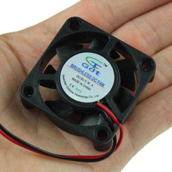 500PCS Wholesale GDT 4cm 3P Cooler 40mm 40x40x10 DC 12V Air Cooling Fan(China (Mainland))