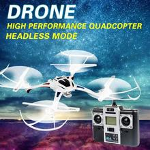 U807 2.4GHz 4CH RC Quadcopter Drone UFO Copter 6-Axis Gyro Headless Mode RTF Quadcopter Drop Shipping