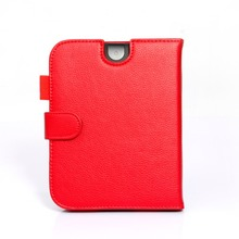 High quality PU leahter cover case for Nook simple touch Nook2 3 for nook glowlight  e-book+screem film +cleaning cloth as gifts
