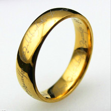 Specials! Explosion models! Lord of the Rings One Ring (gold lettering version) Ring