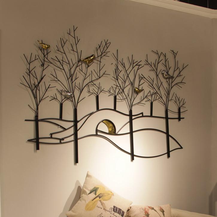 European-minimalist-decorative-wall-hanging-wall-decorations-wrought-iron-wall-hangings-wall ...