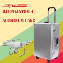 DJI Phantom 4 Case Aluminum Box Easy to Carry for DJI Phantom 4 Drone with Gimbal Protector FPV Parts Gift Fast Shipping