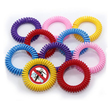 Mosquito Insect Repellent Bracelets Natural Pest Control Bug Repelling Wristbands Multi Colored Super Effective Protection