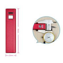 Mini pocket power bank 2600Mah capacity perfume lipsticshape extrena battery powerbank charger for xiaomo samsung meizu