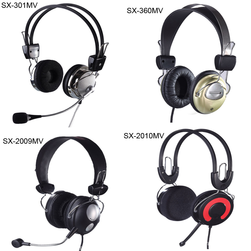 HIFI Stereo Bass Computer Headset Microphone 4Designs Options Surround Headphones + - One 0 Long store