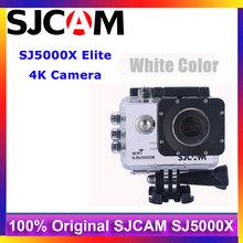 White Color 2.0″ 4K SJCAM SJ5000X Elite WiFi NTK96660 S O N Y  IMX078 Gyro Sports Action Camera for Drone/Extreme Activity