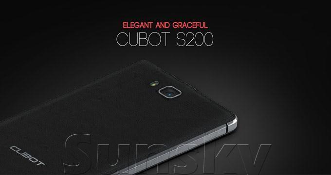 Мобильный телефон Cubot S200 MTK6582 Android 4.4 13 5,0 IPS HD 1 8