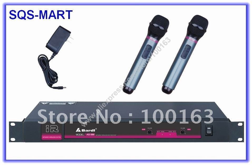 Bardl Infrared Ray Wireless Microphone System ( For KTV,Teaching Effectively solve the problem of frequency interference )(China (Mainland))