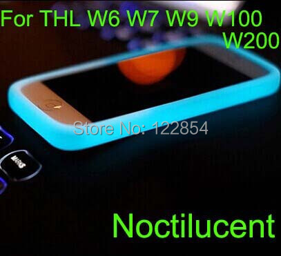 THL W6 W7 W9 W100 W100S W200 T100 T100S T200 case cover New Soft Silicone Anti-knock protective multi-function bumper - Shenzhen Android intelligent electronics specialty stores store