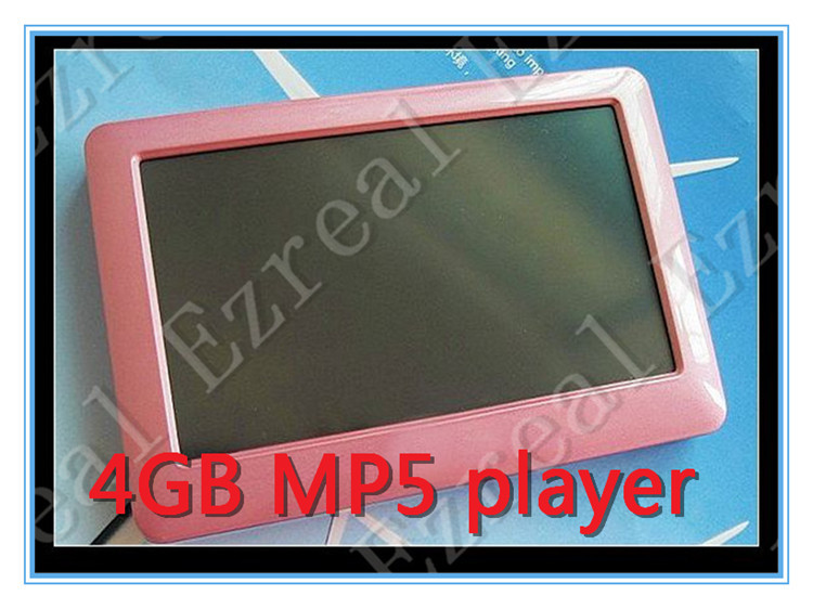 Global sell!4GB mp5 ! Free shipping 4GB 4.3 inch TFT screen T13 MP4 Player MP5 Player TV OUT , 60PCS(China (Mainland))