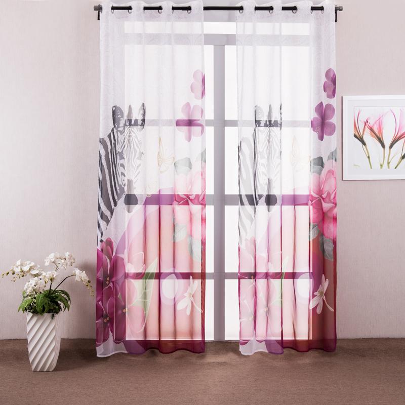 Compra cortinas de la puerta de la cocina online al por for Cortinas visillo modernas