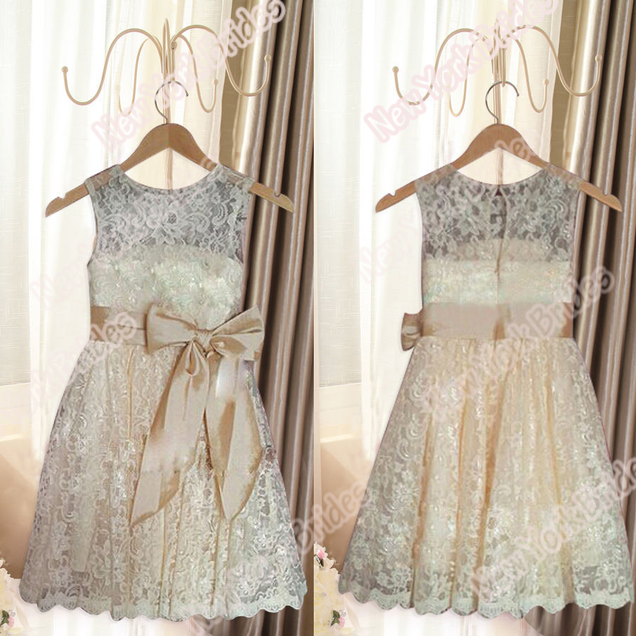 Aliexpress Buy Champagne White Ivory lace Wedding