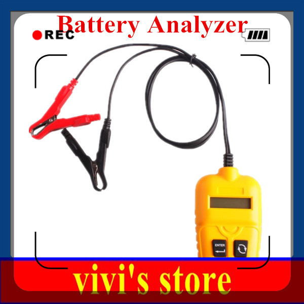 Best quality Best Price Car Battery Analyzer Tester Free Shipping(China (Mainland))