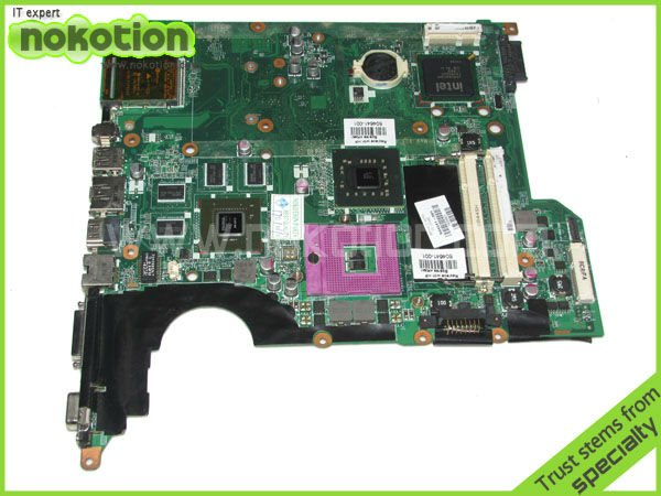 504641-001 DAOT6AMB8G0 laptop motherboard for HP DV5 MAIN BOARD DDR2 with Graphics 100% tested(China (Mainland))