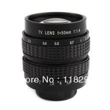 FuJian Black 50mm f/1.4 50 F1.4 CCTV TV Lens C Mount for GF3 GF2 GF1 G3 GH1 GH2 EP1 EP2 EPL1 EPL2 Hot Sale(China (Mainland))