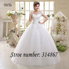 Free Shipping White or Red Cheap Lace Wedding Dress Princess Wedding Frocks Lace up 2016 Fashion Wedding Dresses Ball gown HS587(China (Mainland))