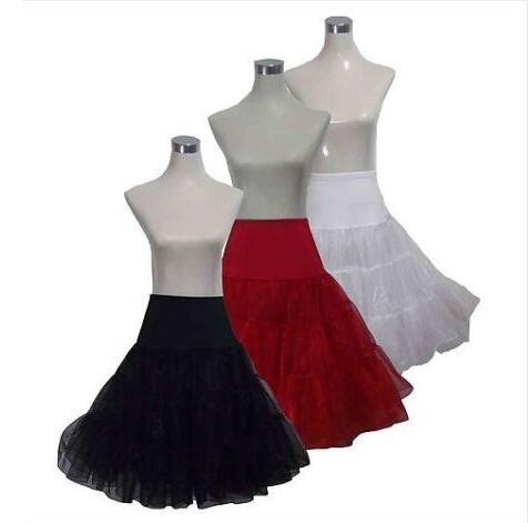 3 Color Hot Sale Short Petticoats For Wedding Dress Bridal Tulle Under Skirt Hoop Online One