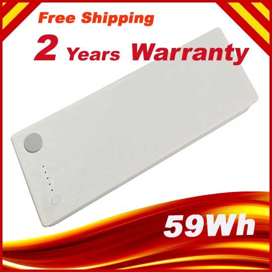 Replacment Laptop Battery for Apple Macbook A1181 A1185 MA561 MA566 White, FREE Shipping<br><br>Aliexpress