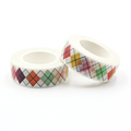 1 PCS King's Crown Bowknot Washi Paper Masking Tapes Scrapbooking Floral Tape Gift Wrapping Sticker Diy Stickers Decals 15mm*10m