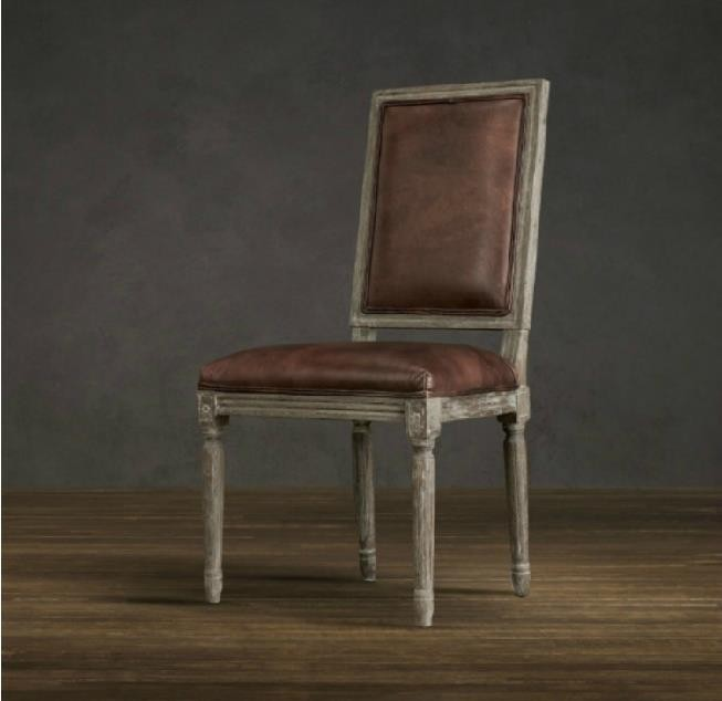Popular Leather Dining Room Chairs-Buy Cheap Leather Dining Room ...