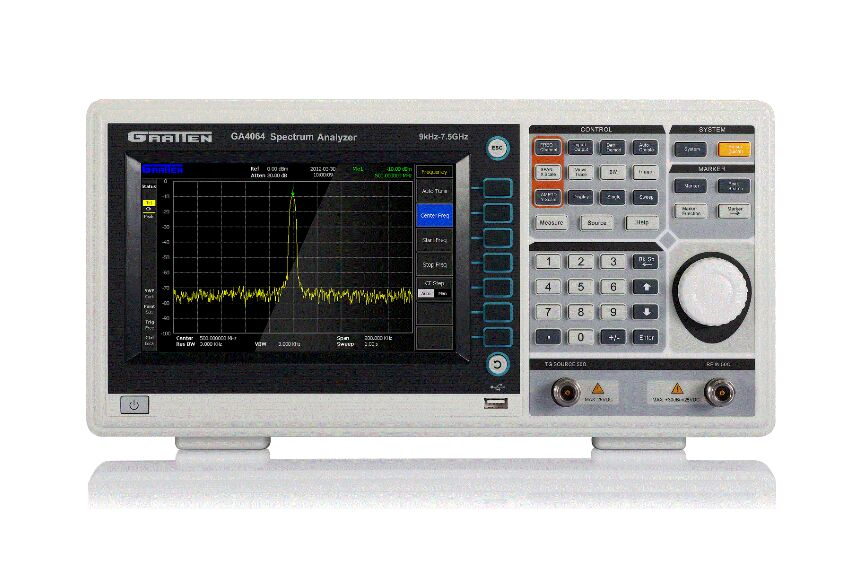 FREE SHIPPING ATTEN GA4064 9kHz~7.5GHz Digital Spectrum Analyzer Frequency Analyser(China (Mainland))