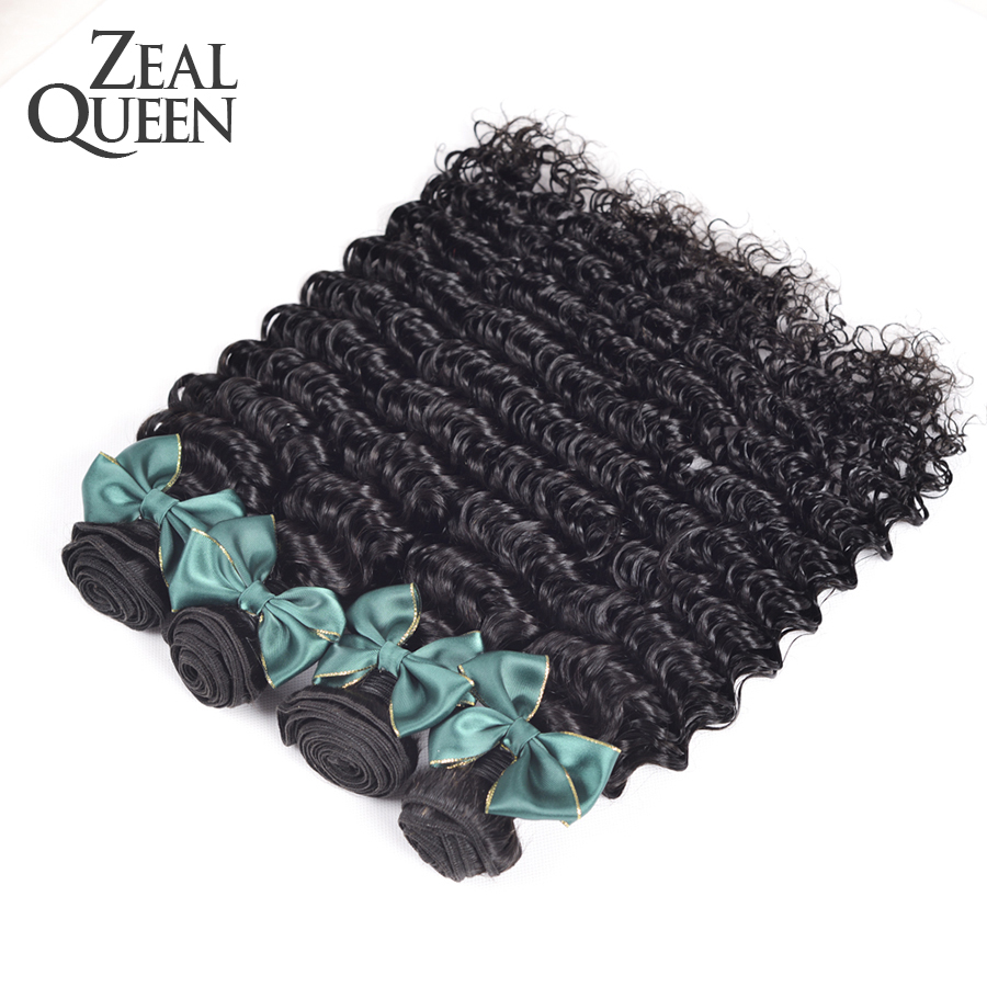 Queen hair products malaysian deep curly hair bundles 3pcs/lot unprocessed  human hair extensions fashion style<br><br>Aliexpress