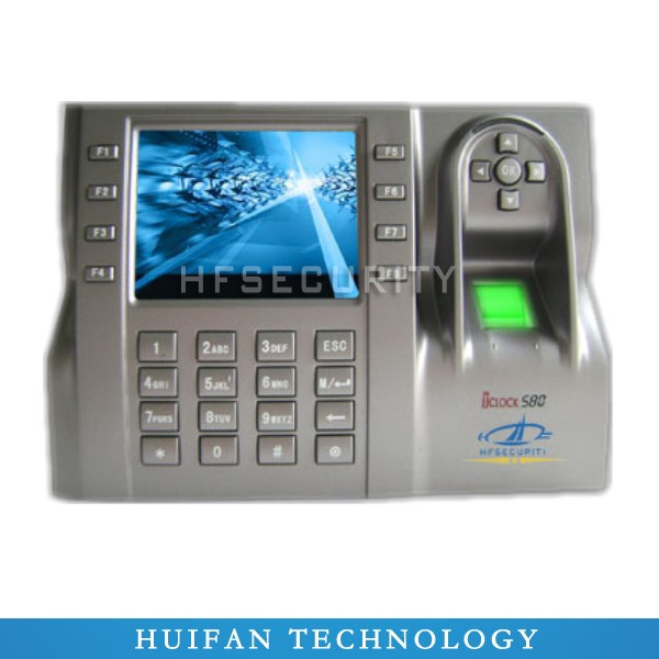 rfid & biometric access control and time attendance system iclock580