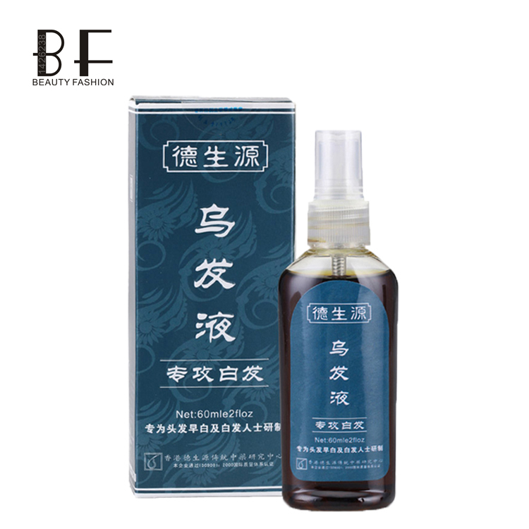 DSY Chinese Medicine Gingsen professional young People Grey hair natural remove,White hair Removal Treatment Tonic Black Hair(China (Mainland))