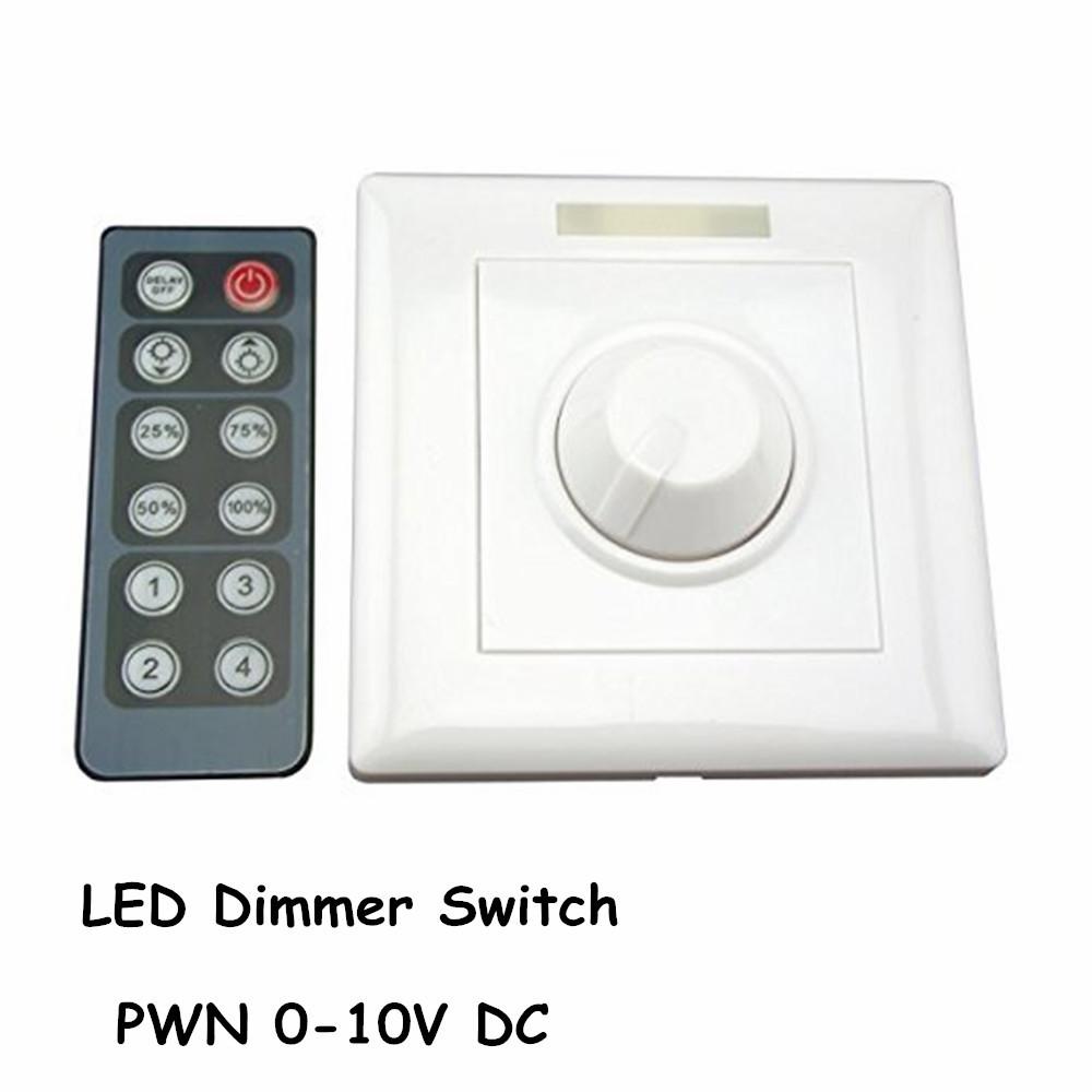 led dimmer infrared 12 key triac dimmer 110v 220v knob triac led. Black Bedroom Furniture Sets. Home Design Ideas