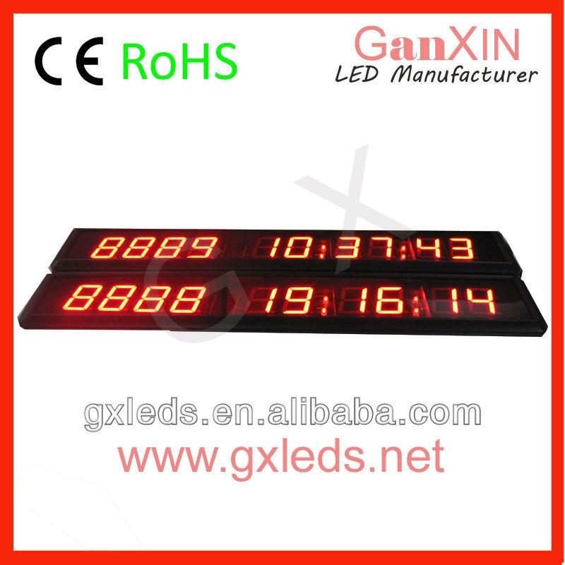 alibaba express GI10D-1.8R1.8 inch 10 digit indoor red high brightness led 7 segment display(China (Mainland))