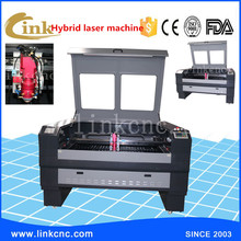 Good working effort water chiller/130w-300w laser tube/metal and nonmetal materials cutting laser cut machine(China (Mainland))