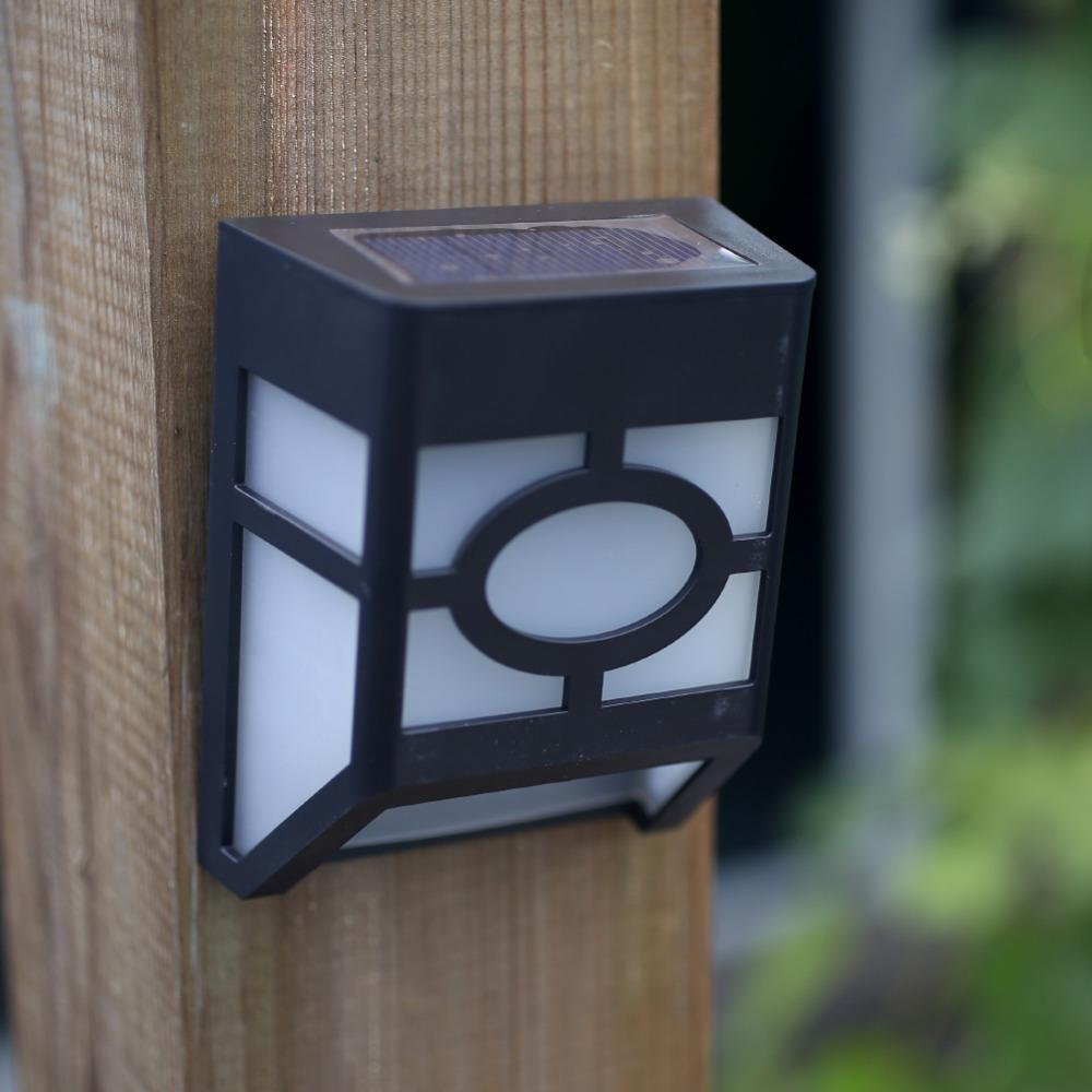 Solar Power Powered 2 LED Home Garden Yard Wall Durable Light Path Outdoor Landscape LampWaterproof<br><br>Aliexpress