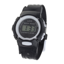 Splendid Boys Girls Students Time Clock Electronic Digital LCD Wrist Sport Watch