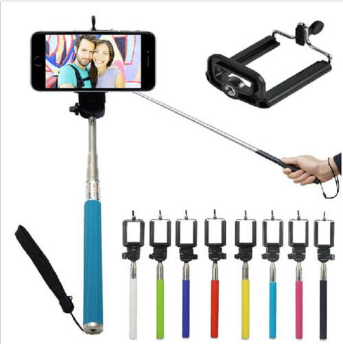 extendable self selfie stick handheld monopod clip holder for iphone samsung gopro digital. Black Bedroom Furniture Sets. Home Design Ideas