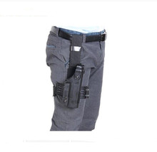 Durable Tactical Puttee Thigh Pistol Holster Leg Waist Bag Hunting Gun Pouch