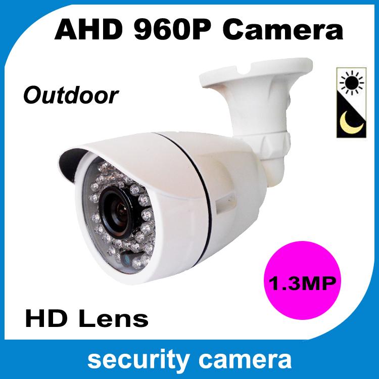 2015 hot AHD Analog High Definition Surveillance Camera 960P bullet camera outdoor 1.3MP security Camera waterproof CCTV HD(China (Mainland))