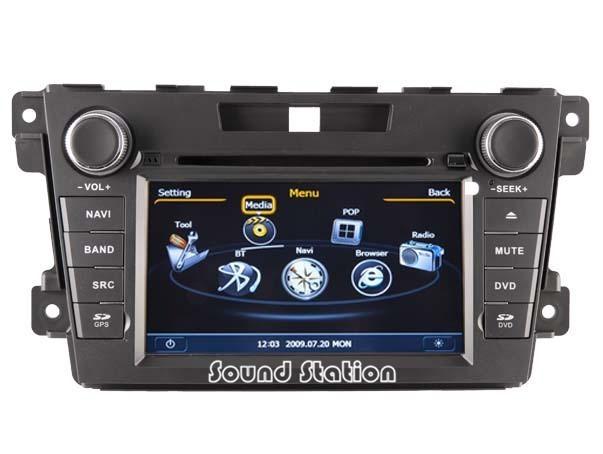For Mazda CX7 CX-7 CX 7 2007 - 2011 Car DVD GPS Navigation Media Stereo Radio Audio Video Central Multimedia Multimidia HeadUnit(China (Mainland))