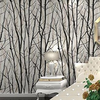 Boom wandbekleding promotie winkel voor promoties boom wandbekleding op - Deco hal originele badkamer ...