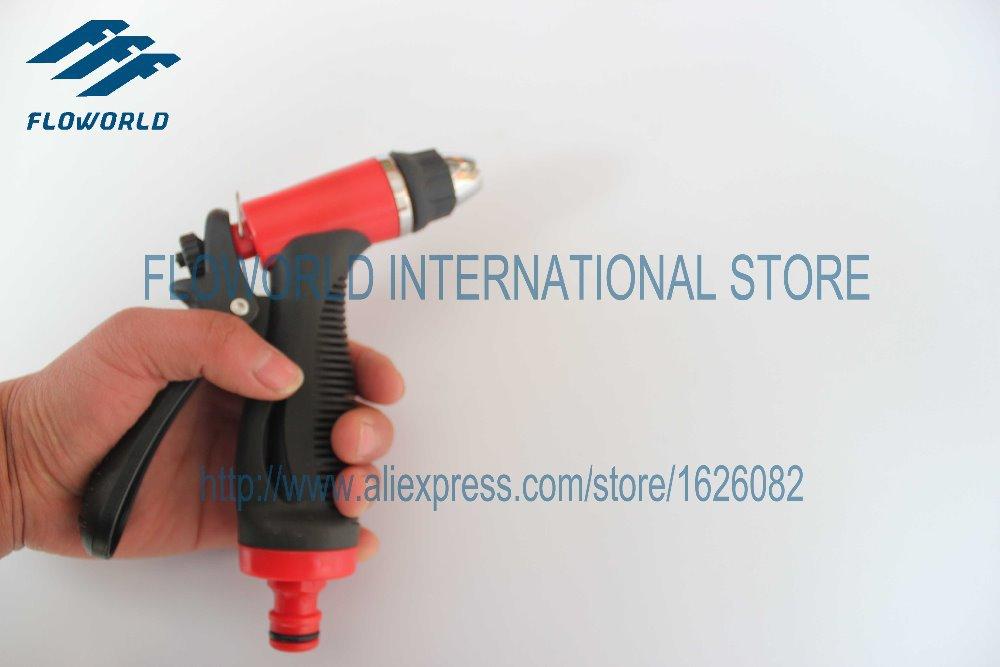 Free Shipping FLO-13 Series ABS High Pressure Washer Gun Car Wash Gun using for High Pressure Cleaner(China (Mainland))