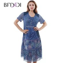 BFDADI Новый Европейский 2016 Лето женские Кружева Выдалбливают Длинные Платья Чешские Повседневная Одежда Женское Свободные Платье Vestido 2277-1(China (Mainland))