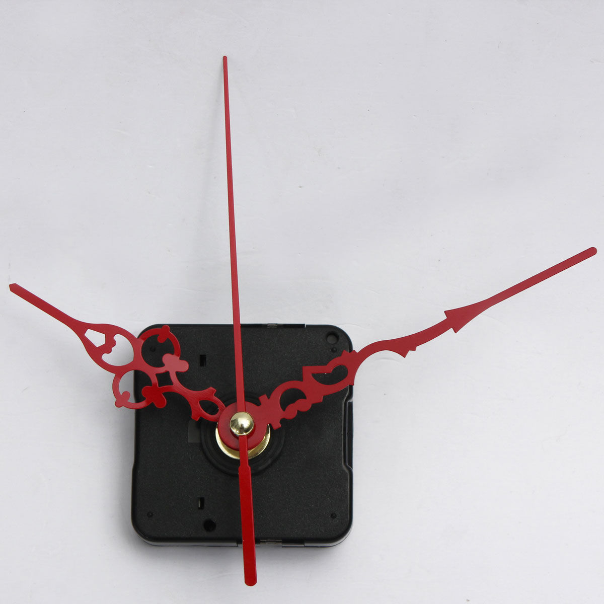 RED HANDS QUARTZ CLOCK WALL MOVEMENT DIY MECHANISM REPAIR PART KITS REPLACE NEW Item condition: New with tags Quantity: 30 SKU:(China (Mainland))