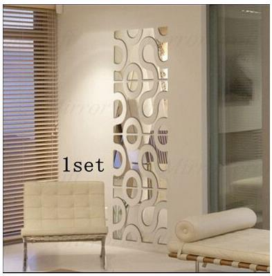 Buy new 3d acrylic wall sticker diy for Decoration murale wall art
