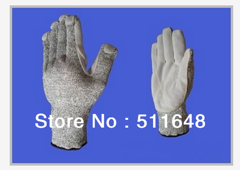 0056 Super Anti-cut Leather dyneema gloves,anti-abrasion,anti-tear,anti-puncture safety gloves free shipping