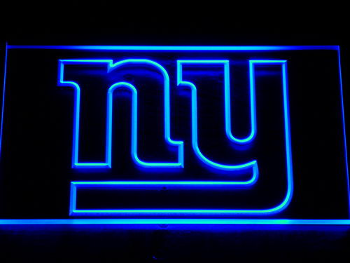 140 New York Giants Logo Bar Beer LED Neon Sign with On/Off Switch 7 Colors to choose(China (Mainland))